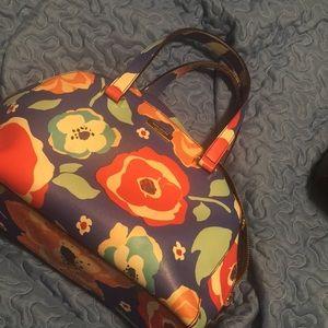 kate spade ♠️ floral 🌺🌸 handbag 👜